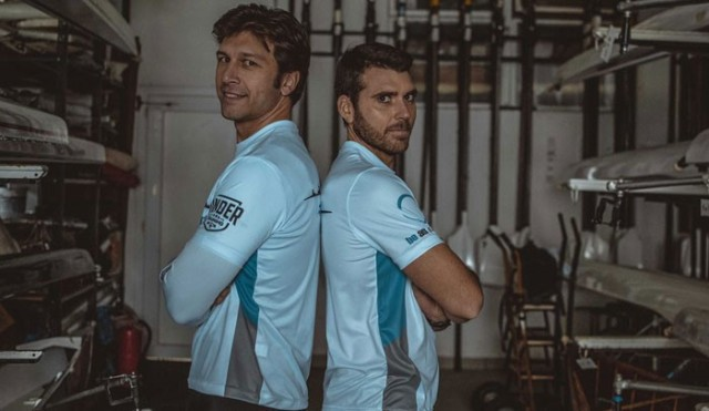 Edoardo Verzotti (left) and Livio La Padula rowers